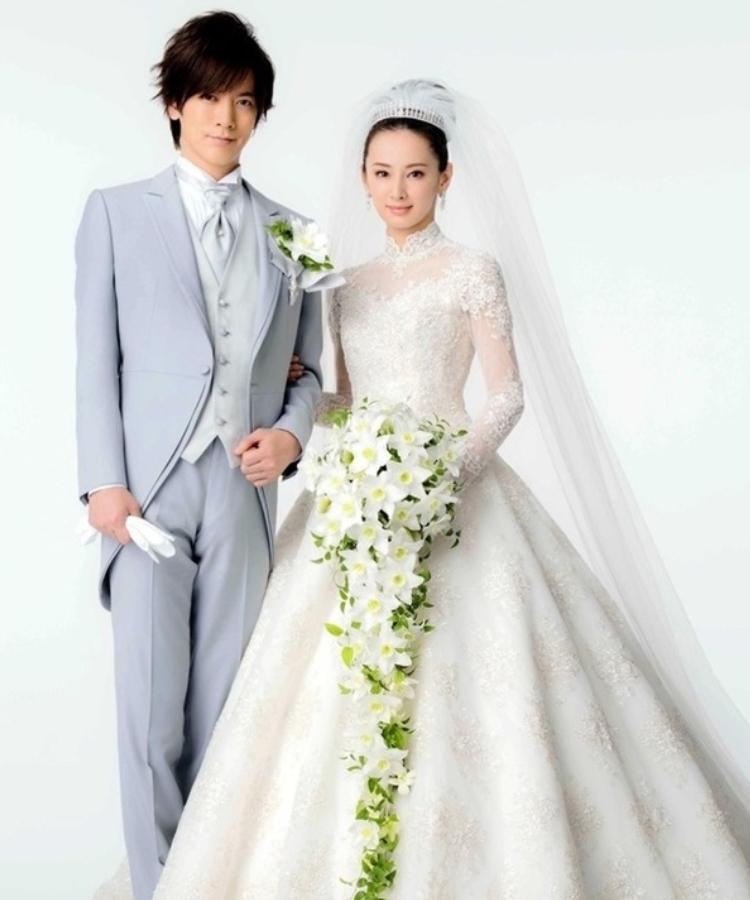 北川景子のウェディングドレス