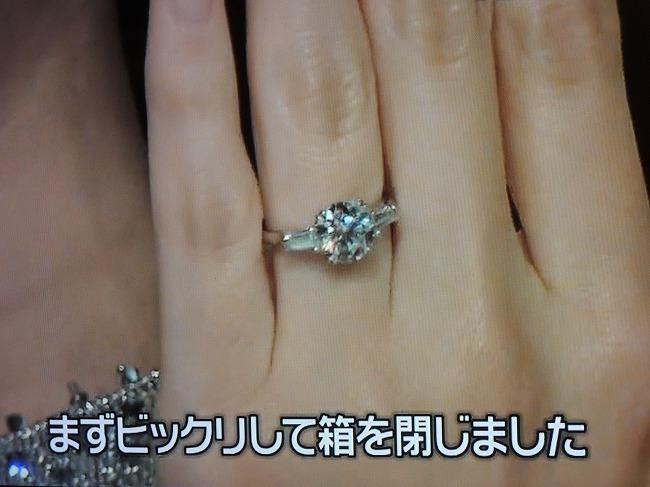 北川景子の結婚指輪
