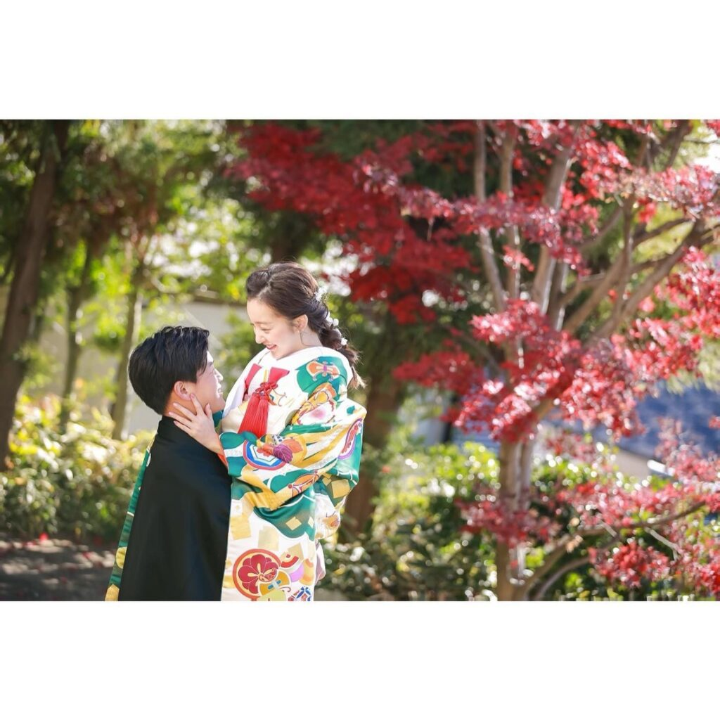 板野友美さんと高橋奎二さん前撮り
