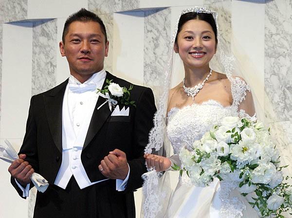 小池栄子さんと坂田亘さん