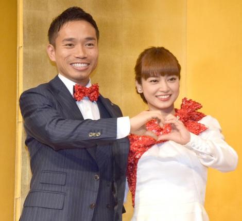 平愛梨さんと長友佑都さん