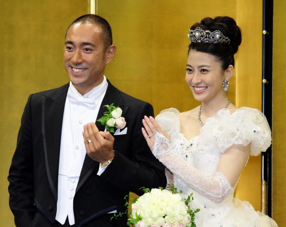 小林麻央さんと市川海老蔵さん