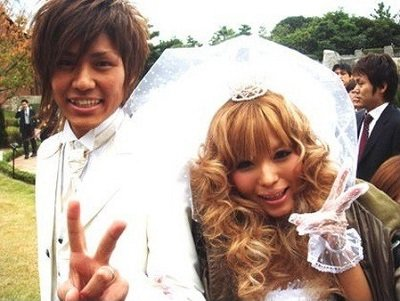 益若つばささんと梅田直樹さん