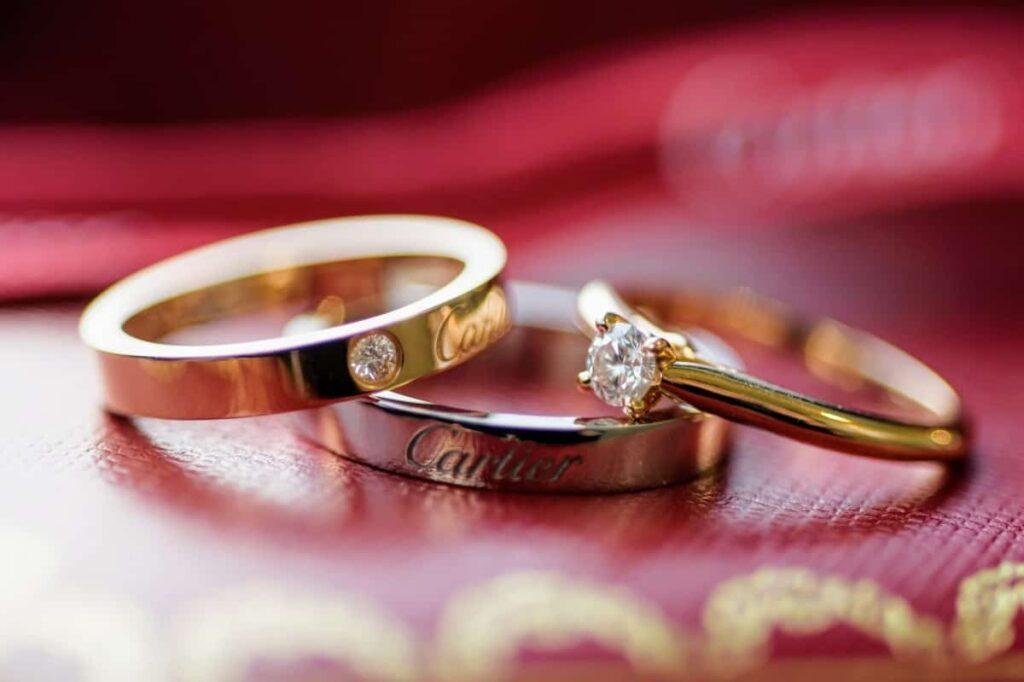 カルティエの指輪