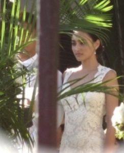 長谷川潤さんの結婚式